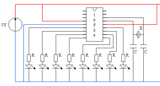 The schematic diagram